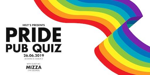 Hely's Pride Pub Quiz