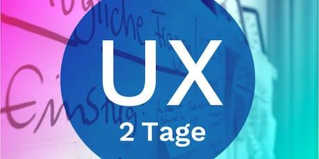 KICKSTARTER: User Experience (UX) tickets