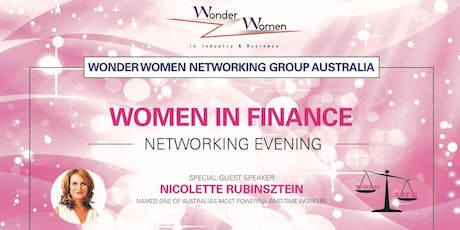 Women in Finance (& driven to achieve an ideal work/life balance) Networking evening  -	tickets