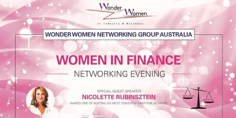 Women in Finance (& driven to achieve an ideal work/life balance) Networking evening  -tickets