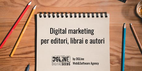 Digital marketing per editori, librai e autori tickets