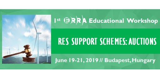 Educational Workshop: RES Support Schemes: Auctions