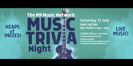 MP Music Network Music Trivia Night tickets