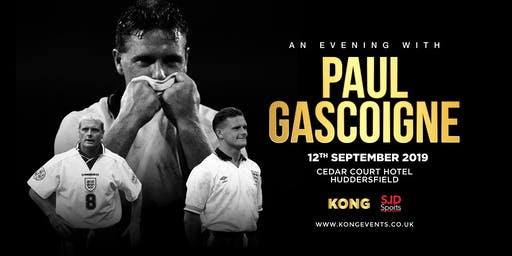 "An Evening with Paul "" Gazza"" Gascoigne Huddersfield"