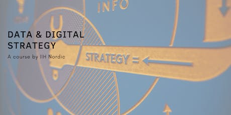 Data & Digital Strategy - English - Course tickets