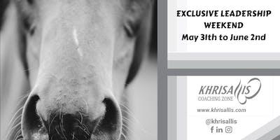 Exclusive Leadership Weekend - May 31th to June 2nd