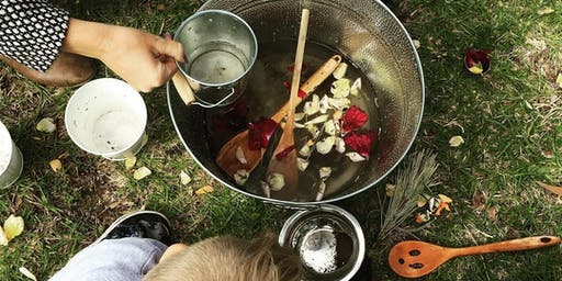 Wild Tots Nature Play - Plant 4 Bowden 1- 4 years - Going on a Bear Hunt.
