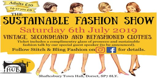 Sustainable Fashion Show By The Stitch and Bling Collective