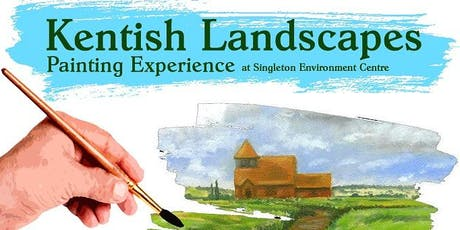 Kentish Landscapes Painting Experience at Singleton Environment Centre (Course 2) tickets