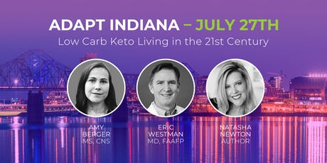 ADAPT INDIANA - Low Carb Keto Living in the 21st Century tickets