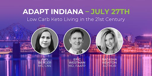 ADAPT INDIANA - Low Carb Keto Living in the 21st Century