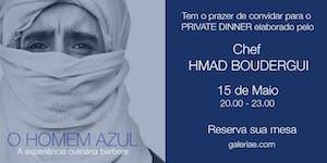 Galeria E apresenta Private Dinner Couscous com Chef...
