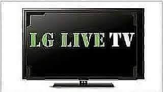 LG LIVE TV at Super Bowl 54
