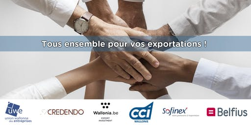 Tous ensemble pour vos exportations !
