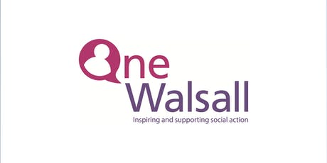 One Walsall - One Voice Forum - South (August 2019) tickets