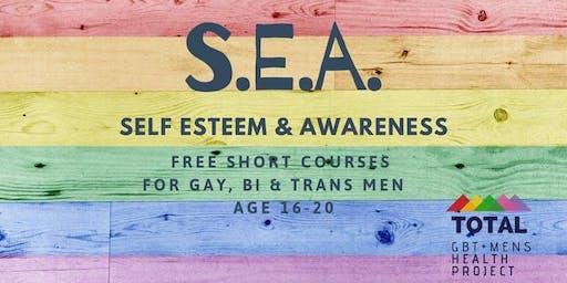 SEA BRADFORD - Self Esteem & Awareness Course for young GBT+ men
