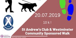 St Andrew's Club & Westminster Community Sponsored Walk