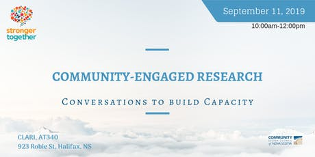 Stronger Together: Community-Engaged Research-CLARI-Central Region tickets