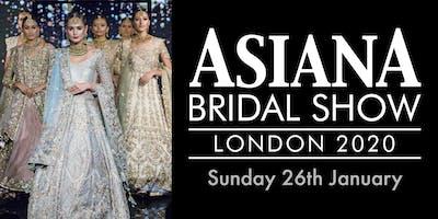 Asiana Bridal Show London - Sun 26 Jan 2020