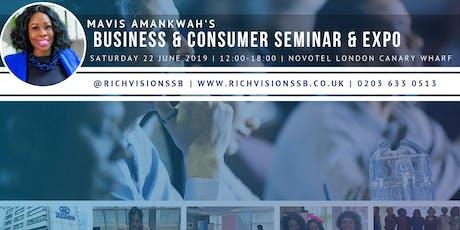 Mavis Amankwah's Promote My Biz Conference & Event  tickets