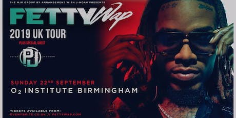 Fetty Wap (O2 Institute, Birmingham) tickets
