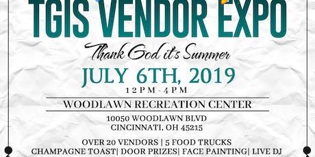 VENDOR/SPONSOR @ TGIS-Thank God it's Summer Vendor Expo tickets