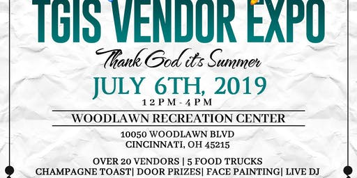 VENDOR/SPONSOR @ TGIS-Thank God it's Summer Vendor Expo