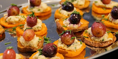 Canapés, Tapas and small dishes workshop tickets