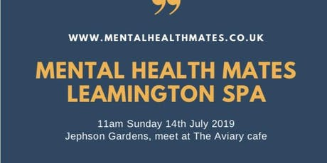 Mental Health Mates Leamington Spa Walk & Talk tickets