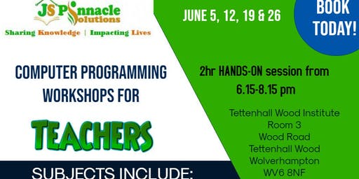 Computer Programming Workshops for Teachers