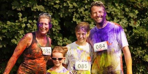 Long Sutton 5k Colour Run and 1.5k Mini Rainbow Run