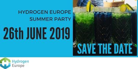 Hydrogen Europe Summer Party 2019 tickets