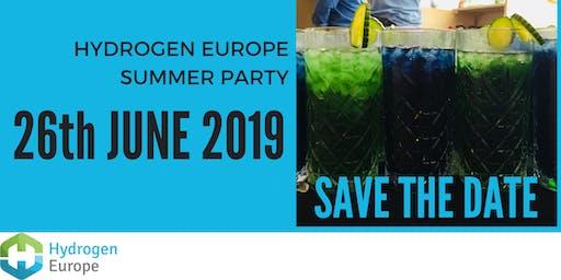 Hydrogen Europe Summer Party 2019