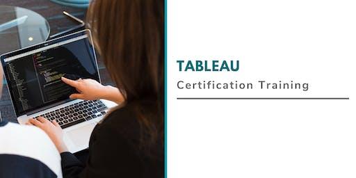 Tableau Online Classroom Training in Davenport, IA