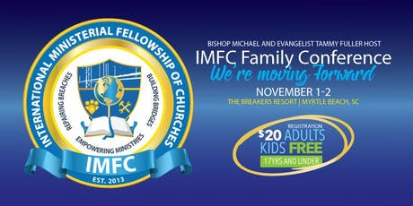 IMFC Family Conference 2019 tickets