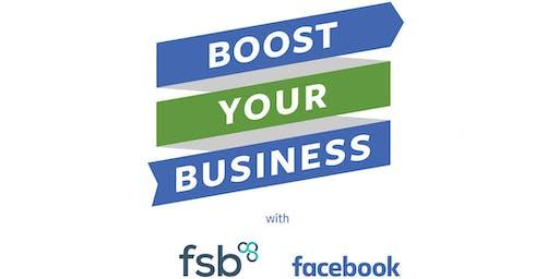 FSB Business Masterclass: Boost Your Business with Facebook - Edinburgh