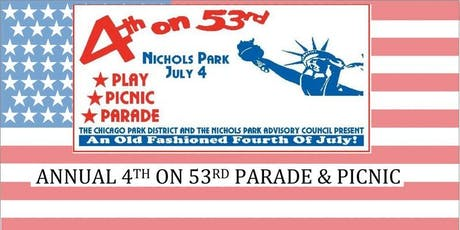 2019 4th on 53rd Parade and Picnic tickets
