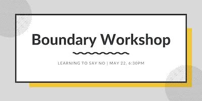 Boundary Workshop