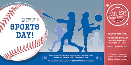 Autism Sports Academy - Detroit, MI - Presented by Centria Autism and Detroit PAL tickets