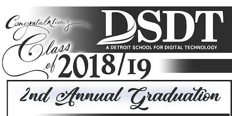 DSDT Graduation tickets