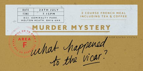 Murder Mystery tickets