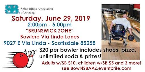 5th Annual Roll & Bowl for SBAAZ-2019