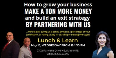 Lunch and Learn on May 15, 2019