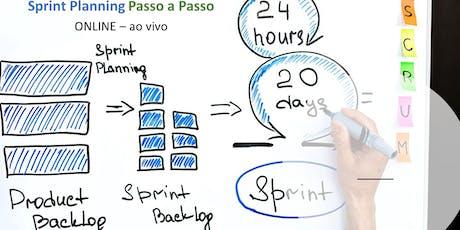 Sprint Planning -  passo a passo - ONLINE - Agosto/2019 ingressos