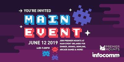 Premier Mounts InfoComm 2019 Party