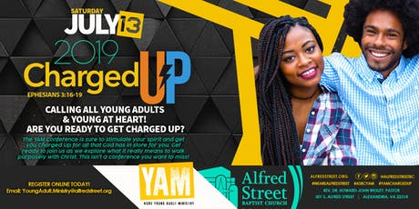 "ASBC Young Adult ""Charged Up"" Conference tickets"