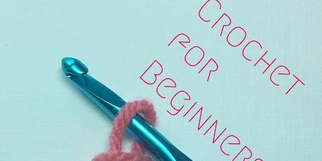 Crochet for Beginners £25 tickets