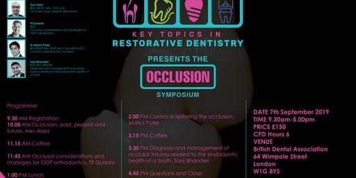 Key Topics in Restorative Dentistry presents the Occlusion symposium