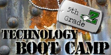 2019 ZWMS 5th Grade Technology Boot Camp tickets