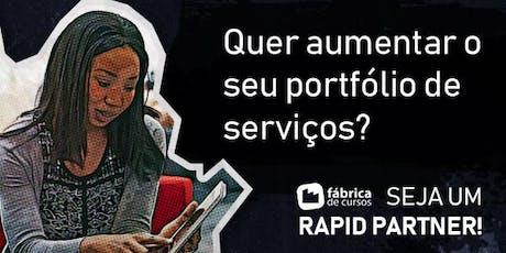 RJ  - Seja um Rapid Partner certificado e atue como facilitador EdTech! ingressos